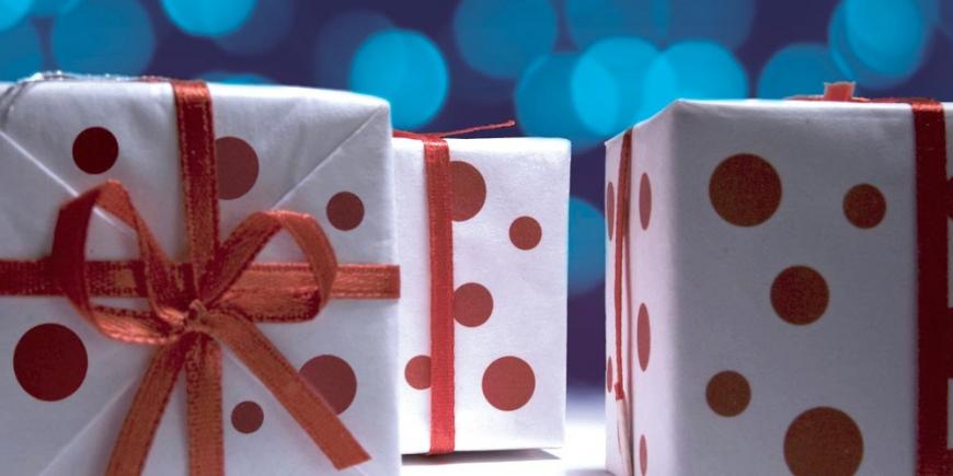 Des paquets cadeaux originaux !