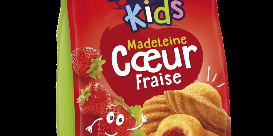 MADELEINE CŒUR FRAISE