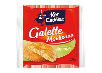 Galettes Moelleuse amande - Ker Cadélac