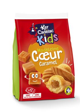 Madeleines coeur caramel - Ker cadelac KIDS