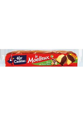 Moelleux marbré chocolat noisette - Ker Cadelac
