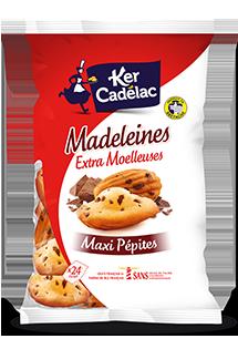MADELEINES EXTRA MOELLEUSES AUX MAXI PÉPITES DE CHOCOLAT
