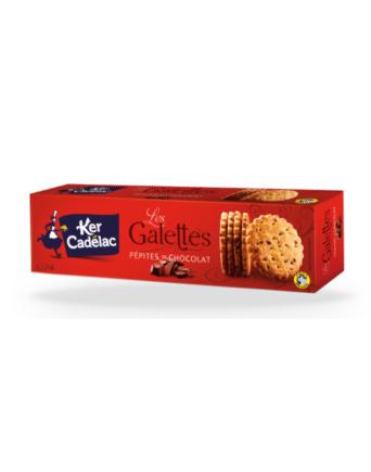 GALETTES AUX PÉPITES DE CHOCOLAT - Ker Cadélac