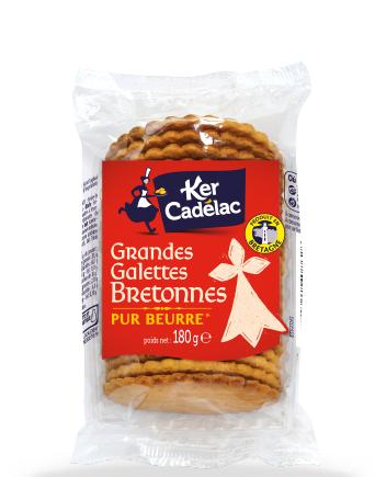 Grandes galettes Bretonnes - Ker Cadélac