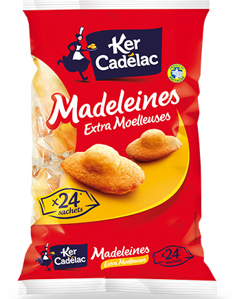 Madeleines extra moelleuses Nature