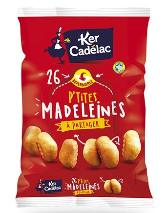P'tites madeleines à partager - Ker Cadélac