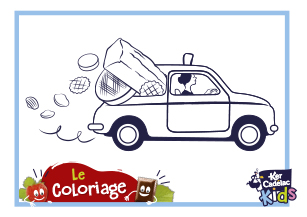 Coloriage voiture
