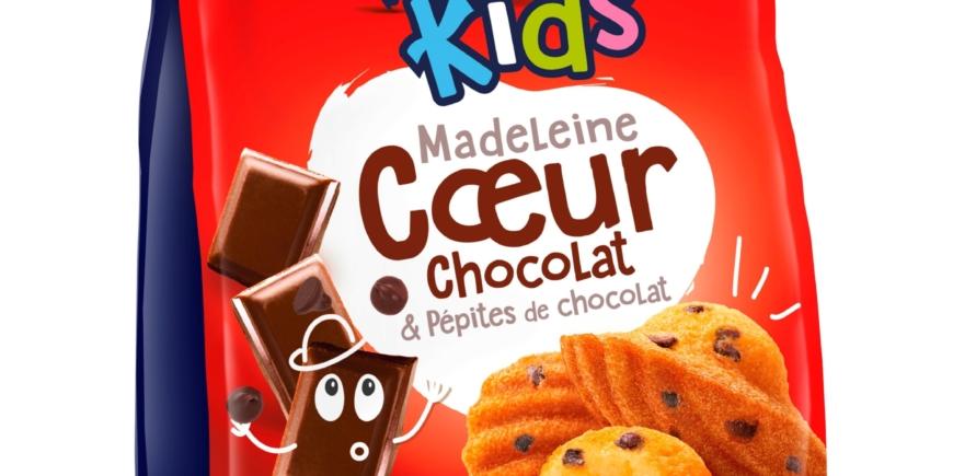 MADELEINE CŒUR CHOCOLAT & PÉPITES DE CHOCOLAT