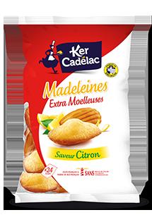 MADELEINES EXTRA MOELLEUSES CITRON