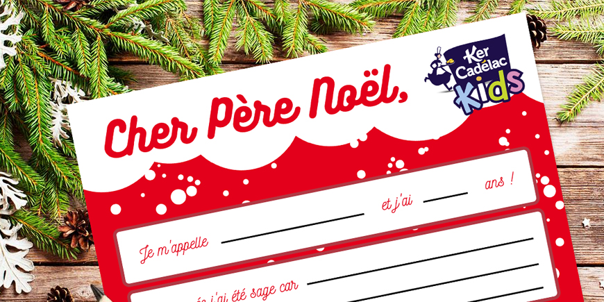 Ecrivez votre lettre au Père Noël !