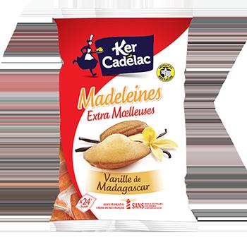MADELEINES EXTRA MOELLEUSES VANILLE DE MADAGASCAR