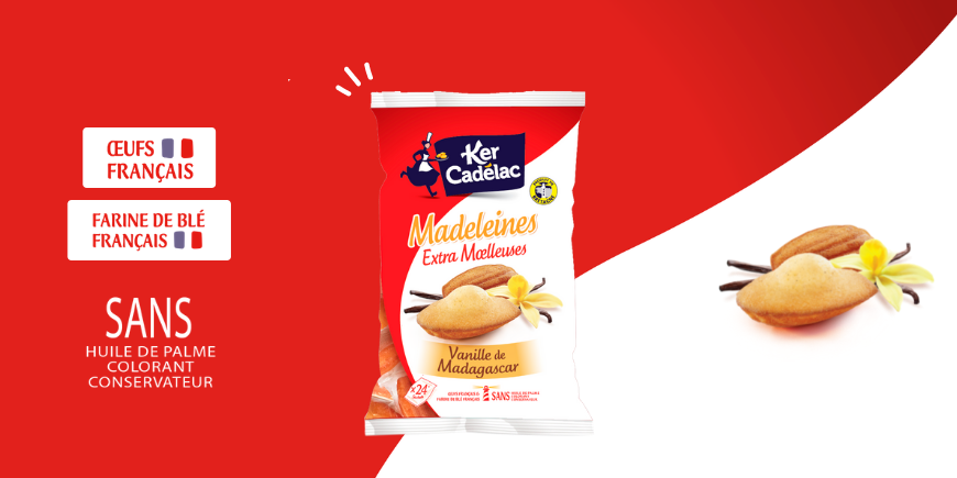 LA NOUVELLE MADELEINE EXTRA MOELLEUSE !