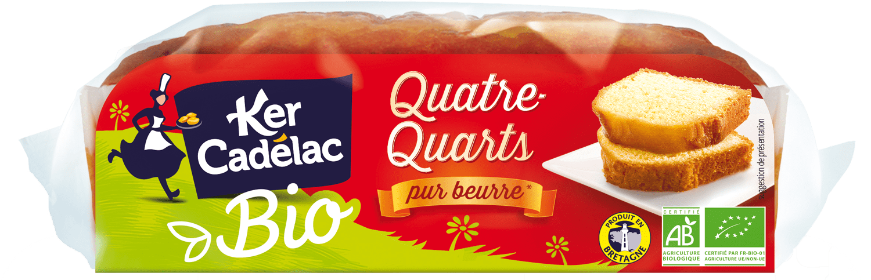 Quatre-Quarts Pur Beurre Bio | Ker Cadélac