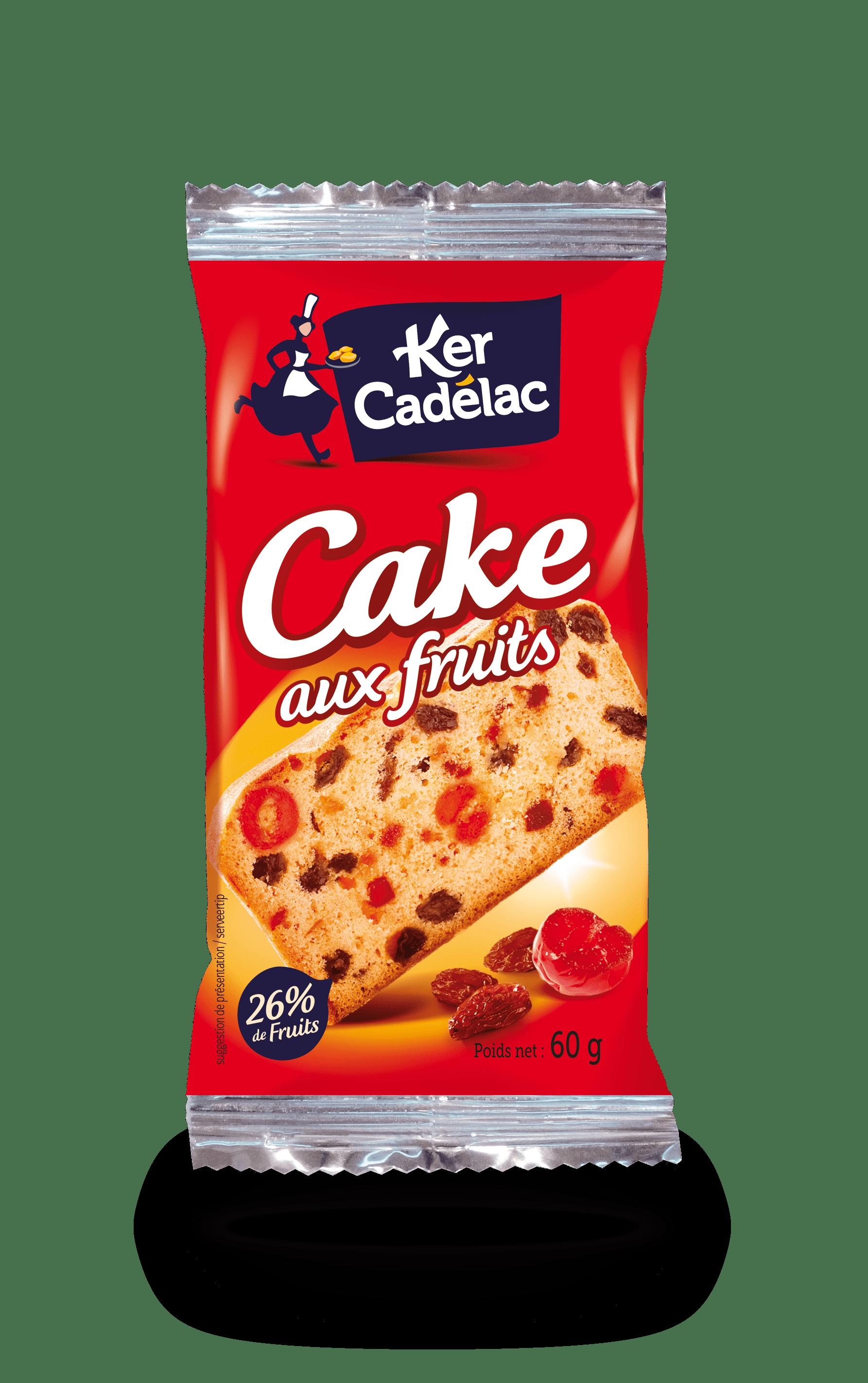 Tranche de cake aux fruits | Ker Cadélac
