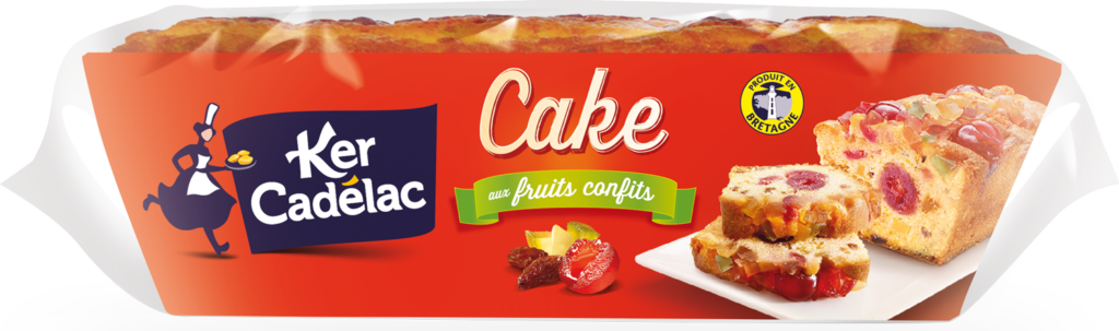 Cake aux fruits confits cuit dans son moule | Ker Cadélac