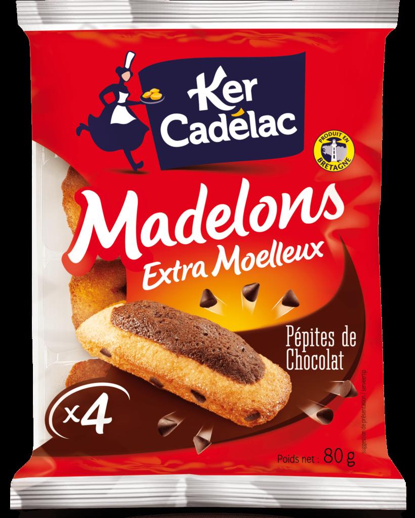 Madelons aux pépites de chocolat | Ker Cadélac