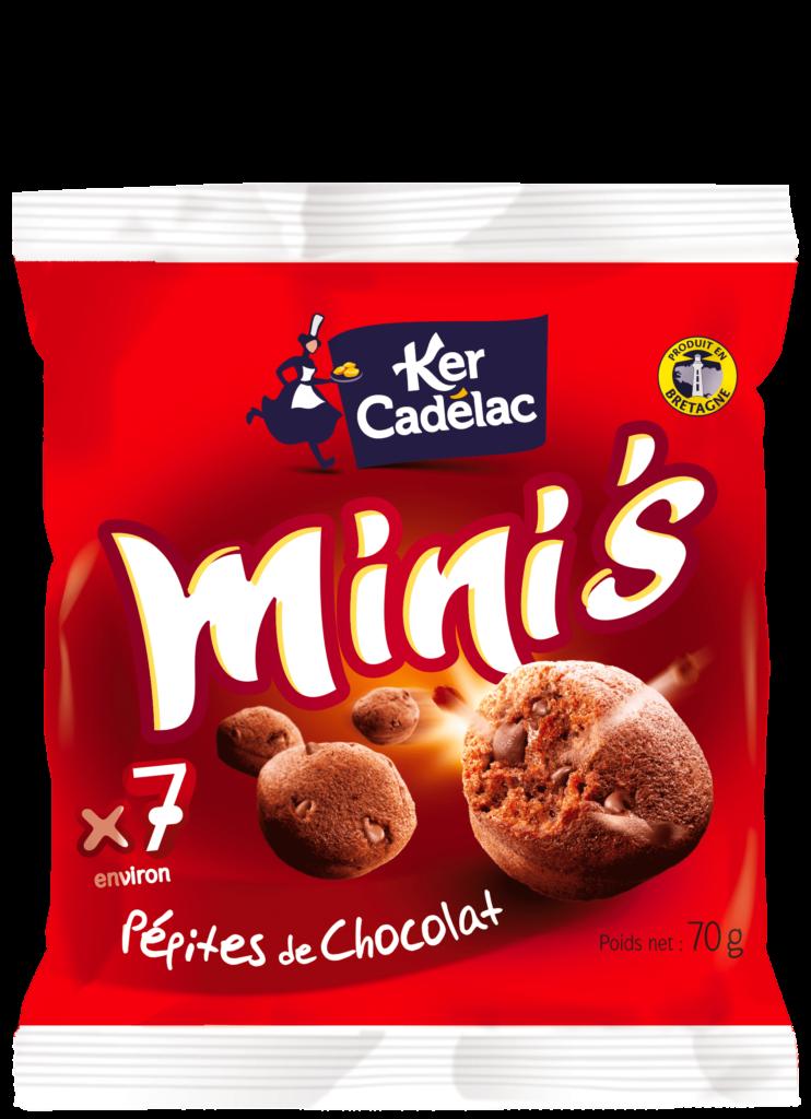 Mini's pépites chocolat | Ker Cadélac