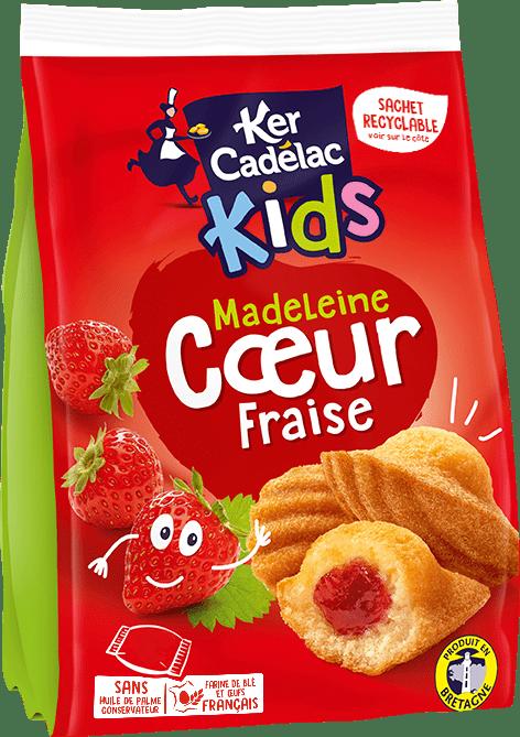 Madeleine Cœur fraise | Ker Cadélac