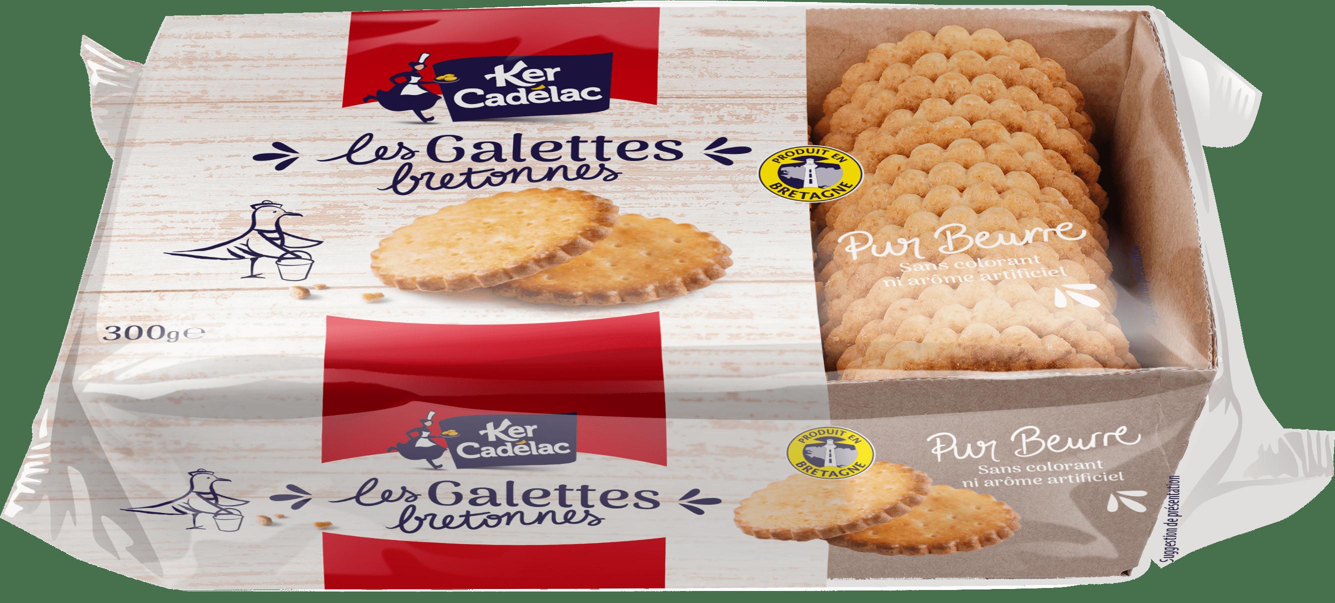 Galettes bretonnes pur beurre | Ker Cadélac