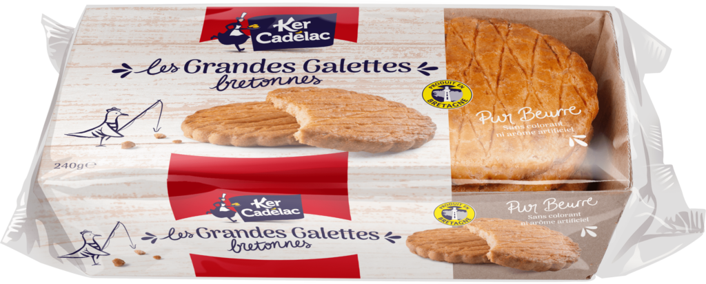 Grandes galettes bretonnes pur beurre | Ker Cadélac