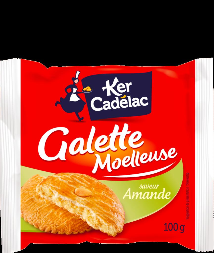 Galette moelleuse amande | Ker Cadélac