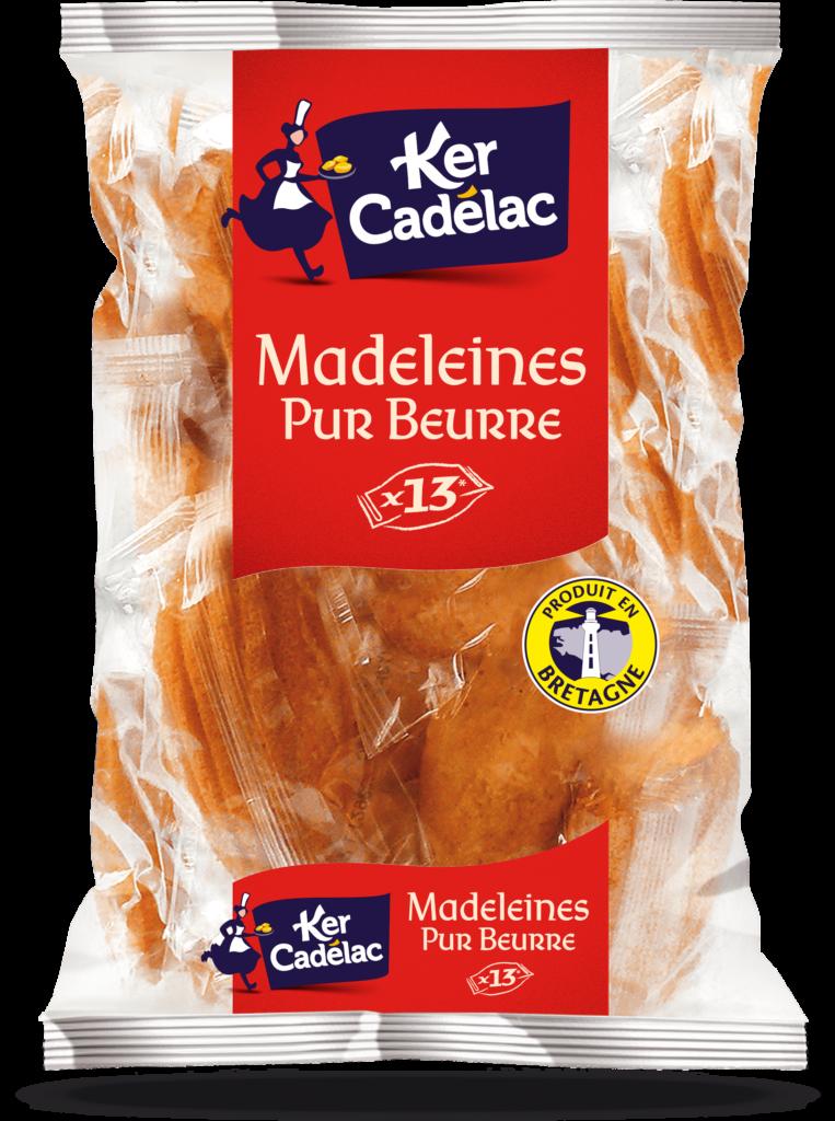 Madeleines Pur Beurre | Ker Cadélac