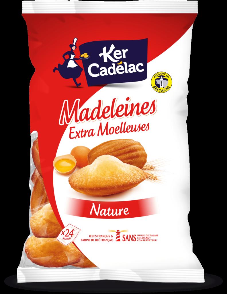 Madeleine Extra Moelleuse Nature | Ker Cadélac