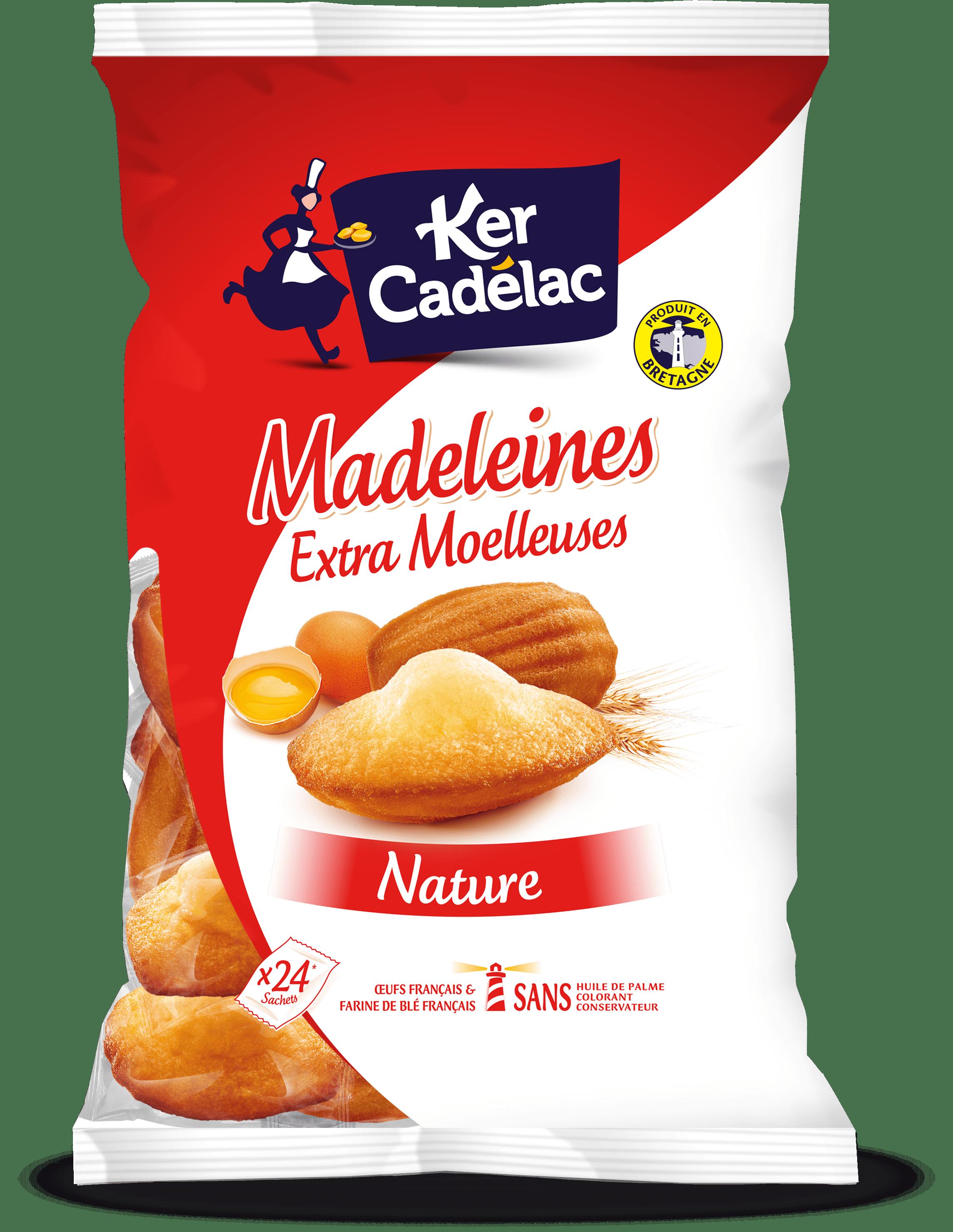 Madeleine Extra Moelleuse Nature   Ker Cadélac