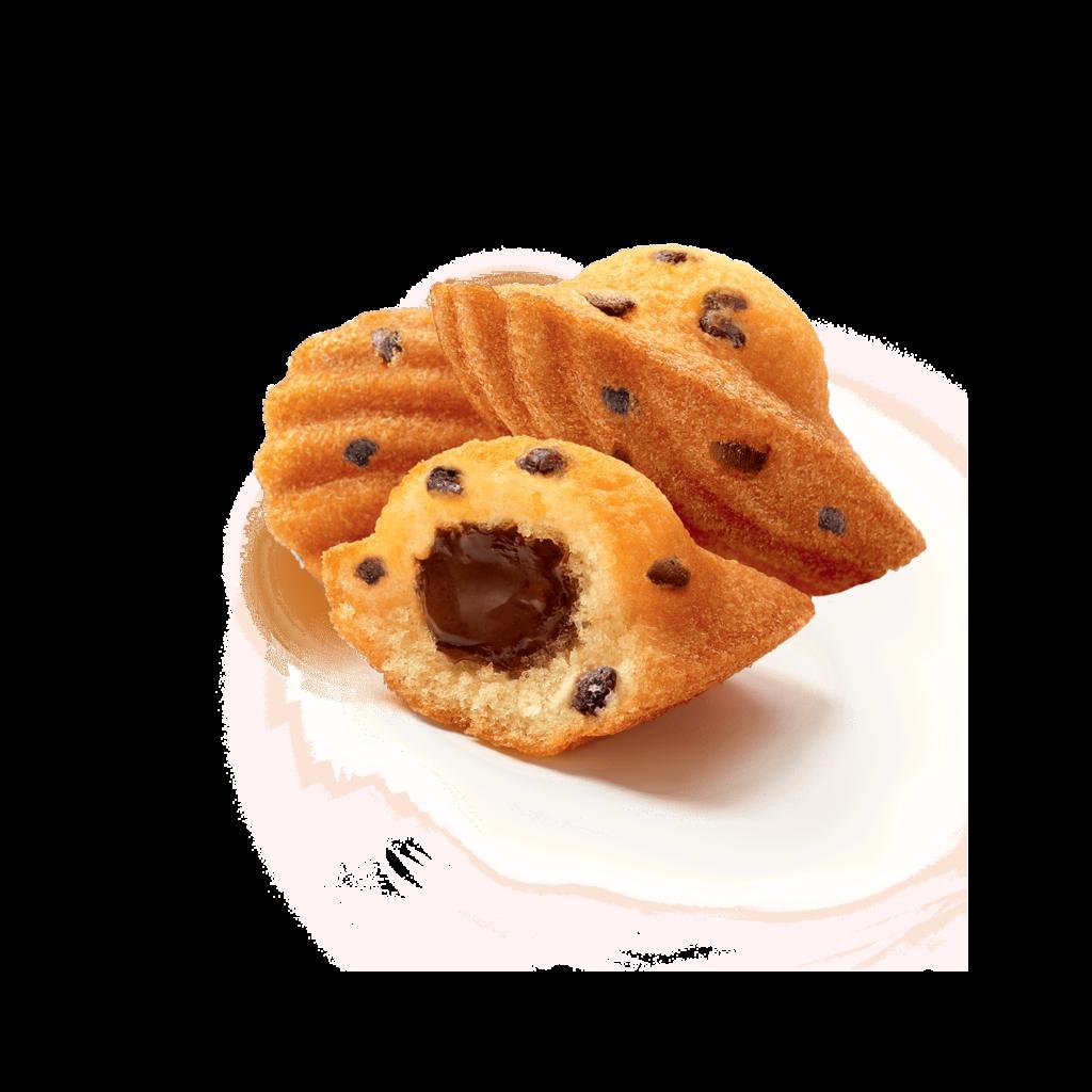 Madeleine Cœur chocolat et pépites de chocolat | Ker Cadélac