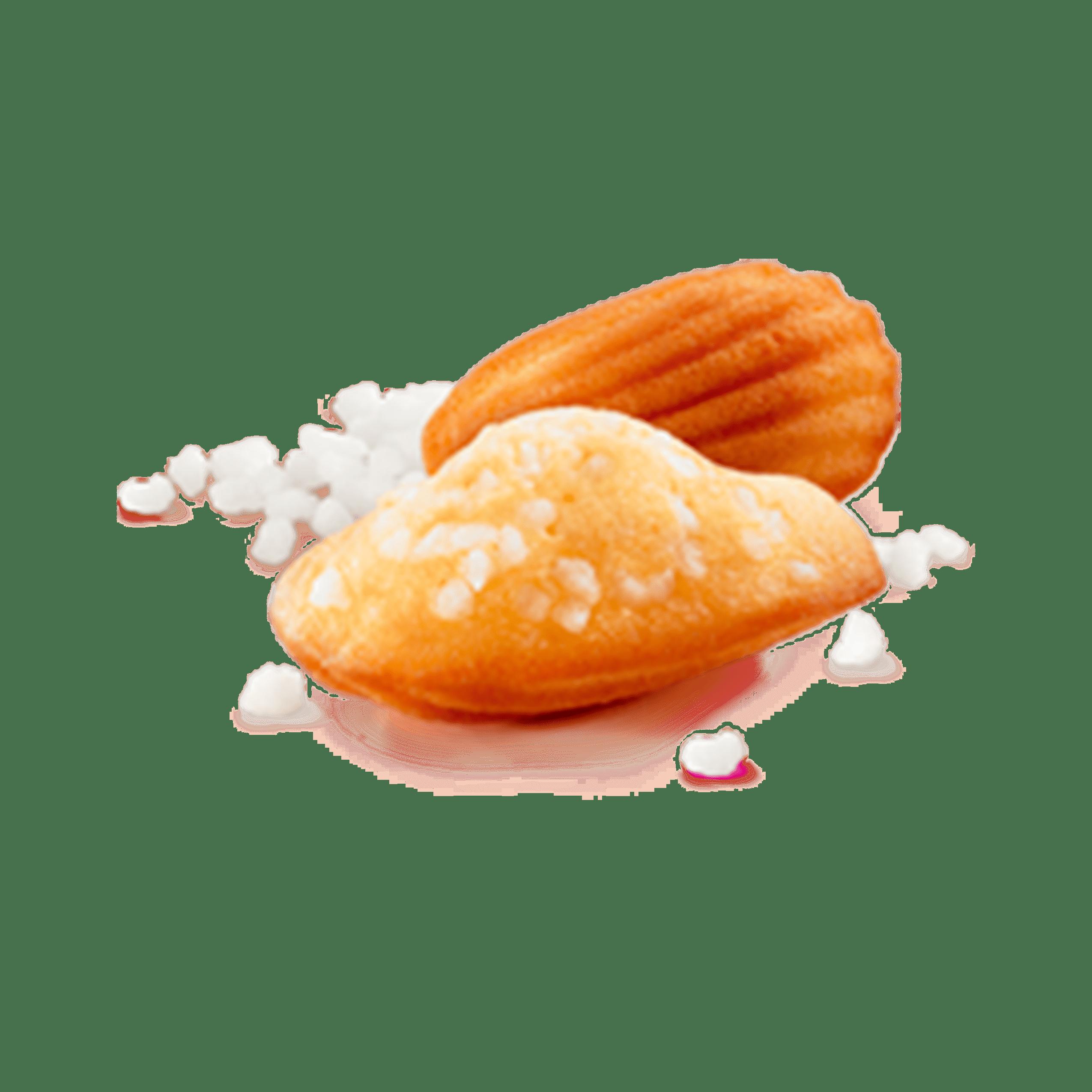 Madeleines Extra Moelleuses aux perles de sucre   Ker Cadélac