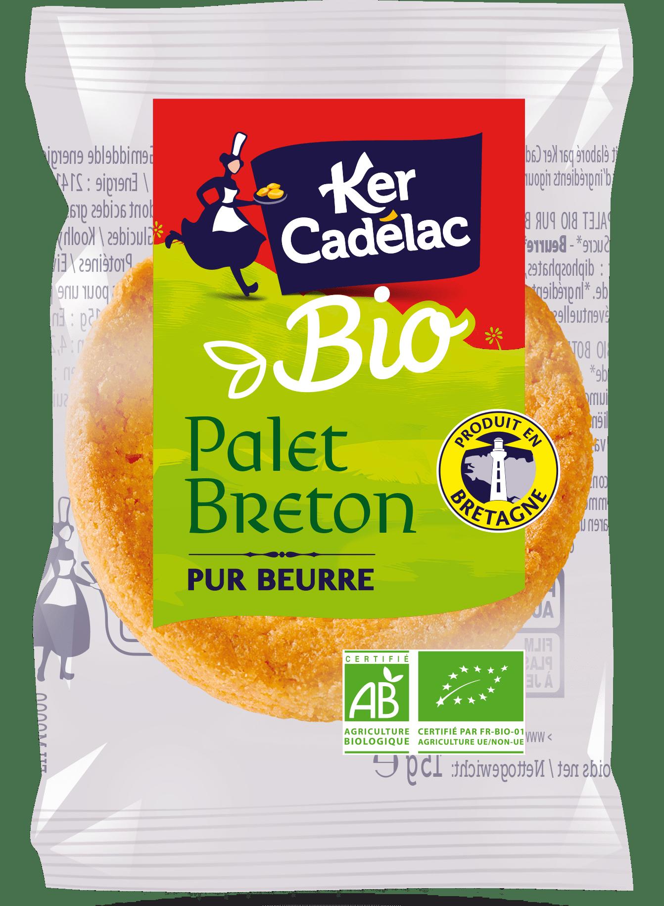 Palet pur beurre Bio | Ker Cadélac