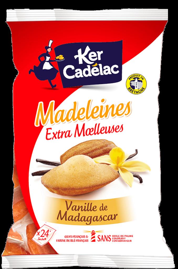 Madeleine Extra Moelleuse Vanille de Madagascar | Ker Cadélac