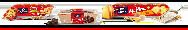 Ker Cadélac - Gâteaux