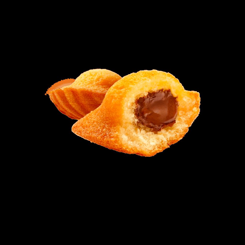 Maxi Madeleine Cœur Chocolat goût noisette | Ker Cadélac