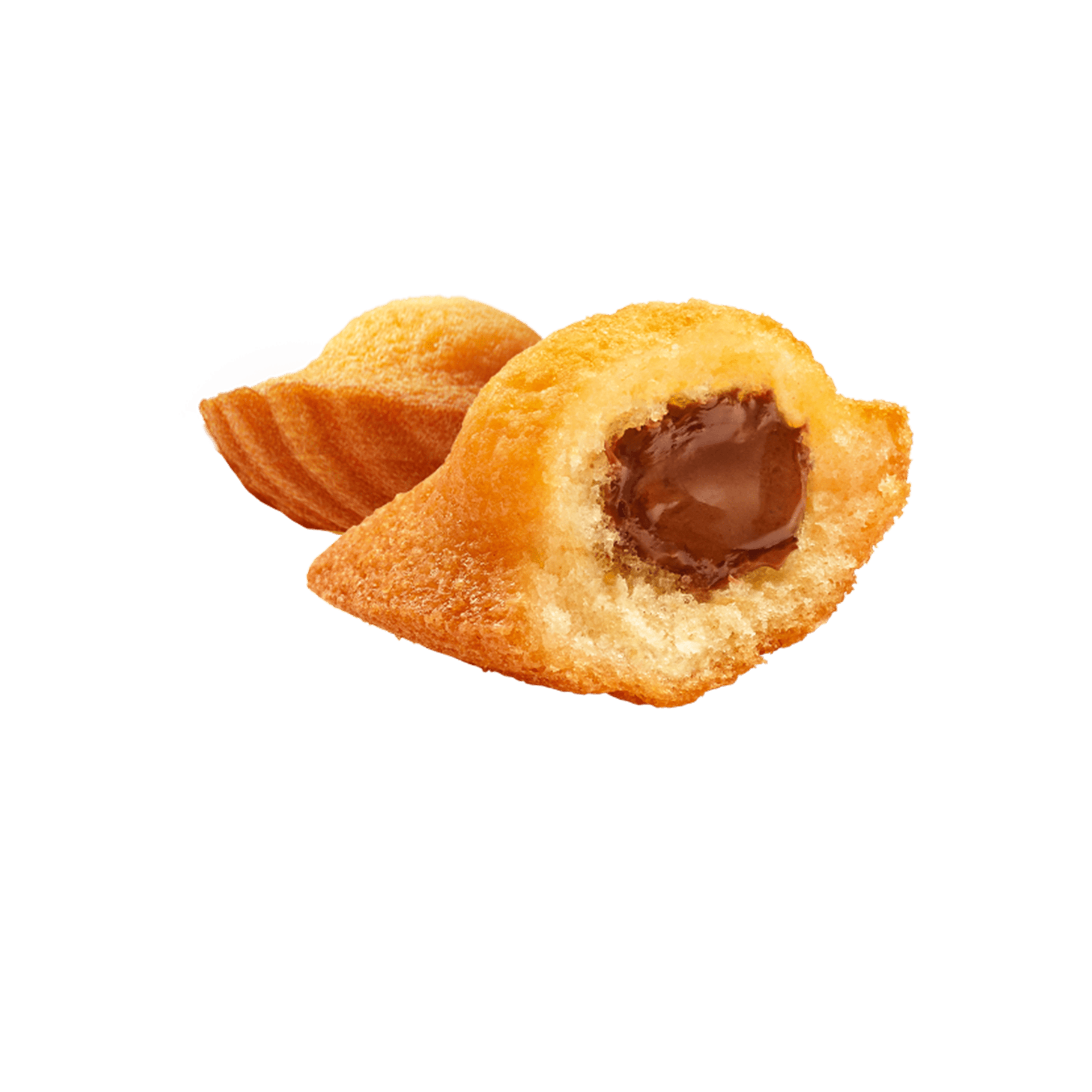 Madeleine Cœur chocolat goût noisette   Ker Cadélac