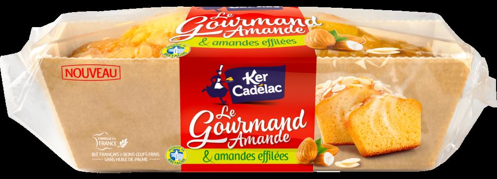 Gourmand amande et amande effilées | Ker Cadélac